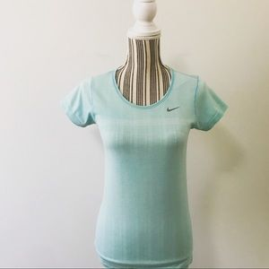 Nike Dri-Fit Short Sleeve Top Size S